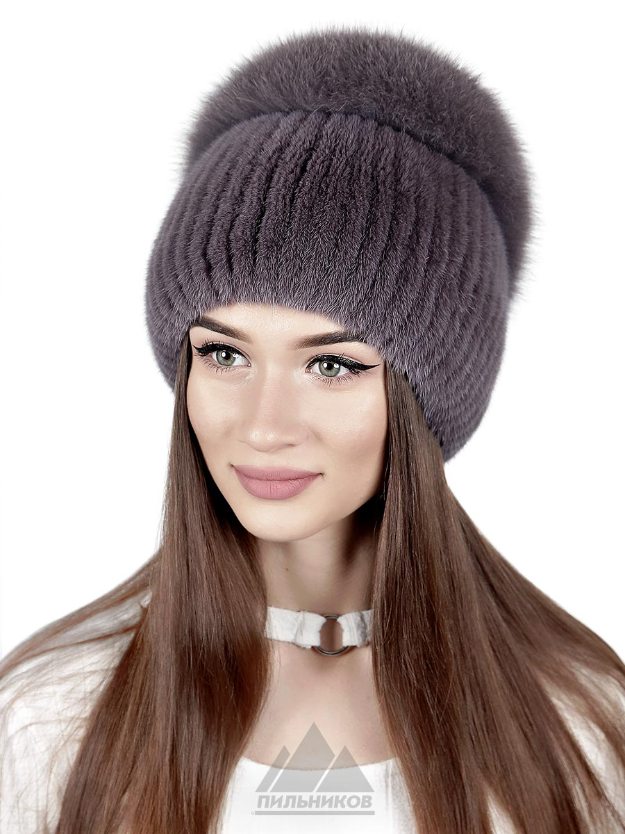 Вязаная-шапка Гарнет