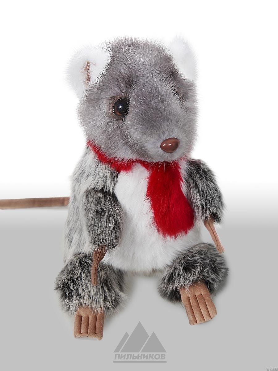Меховая-игрушка Крыса