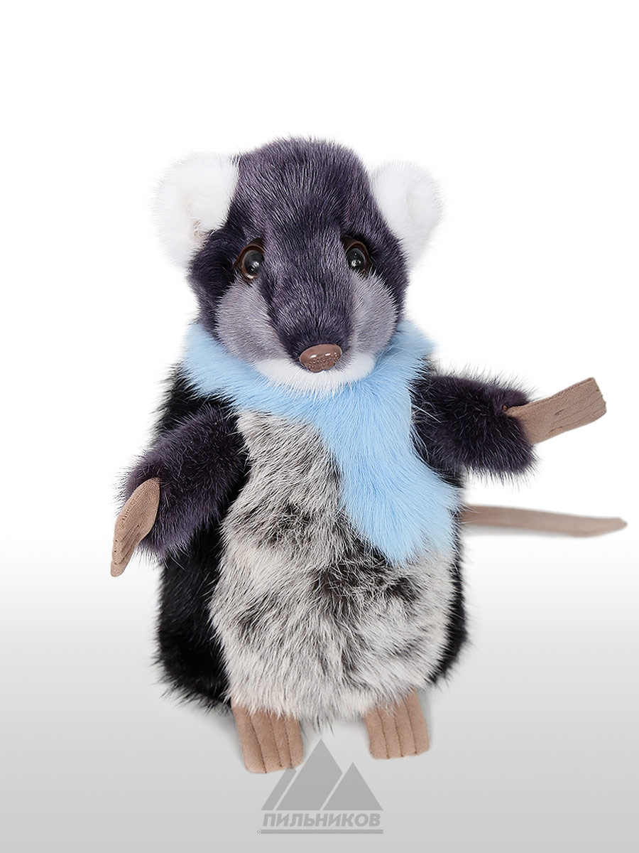 Меховая-игрушка Крыска