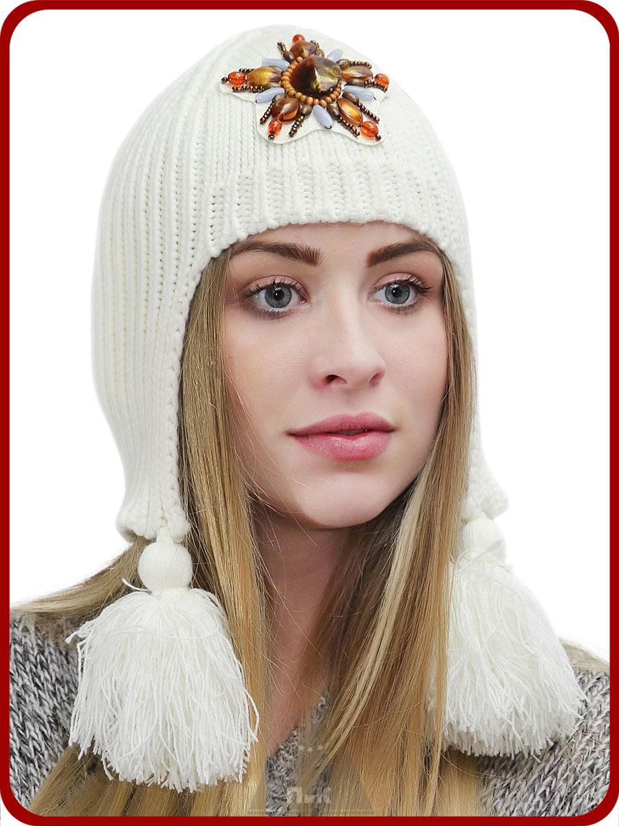 Шлем Алсу - Женские шапки - Вязаные шапки