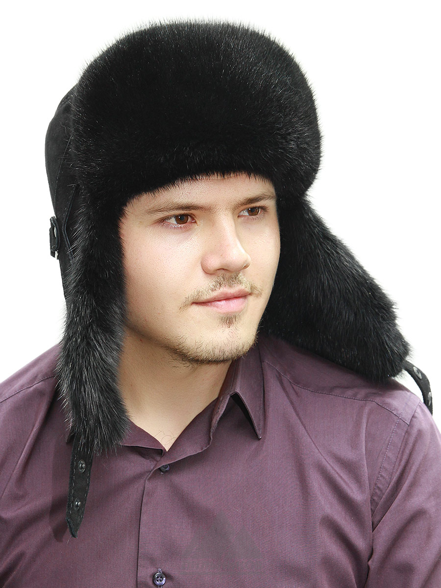 Шапка-ушанка Стеф