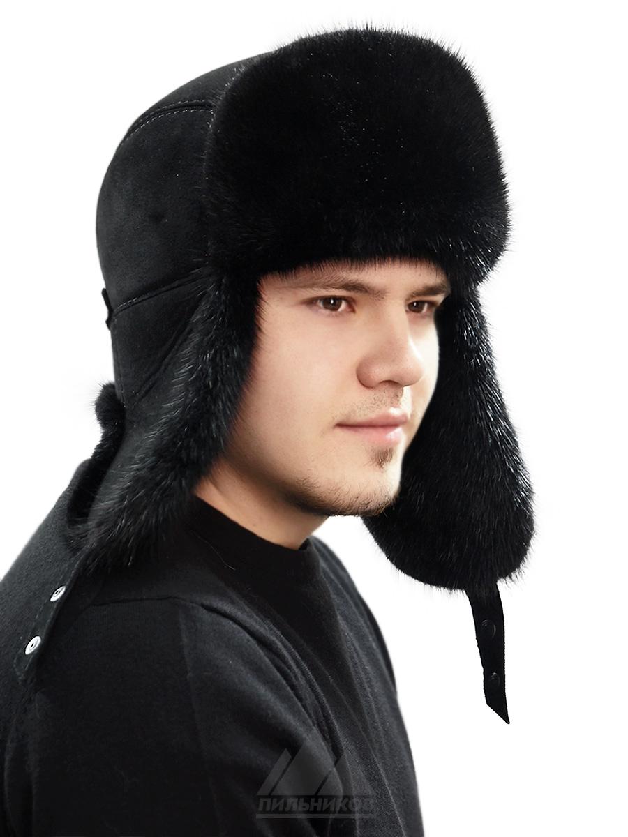 Шапка-ушанка Норд
