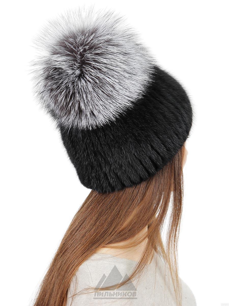Шапка Катрин - Женские шапки - Из вязаной норки