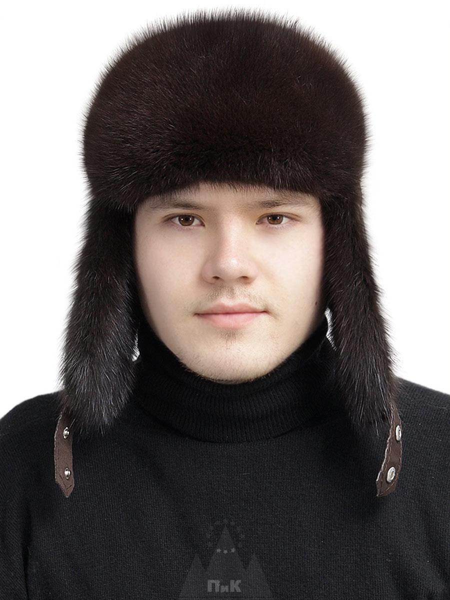 Шапка-ушанка Мистраль