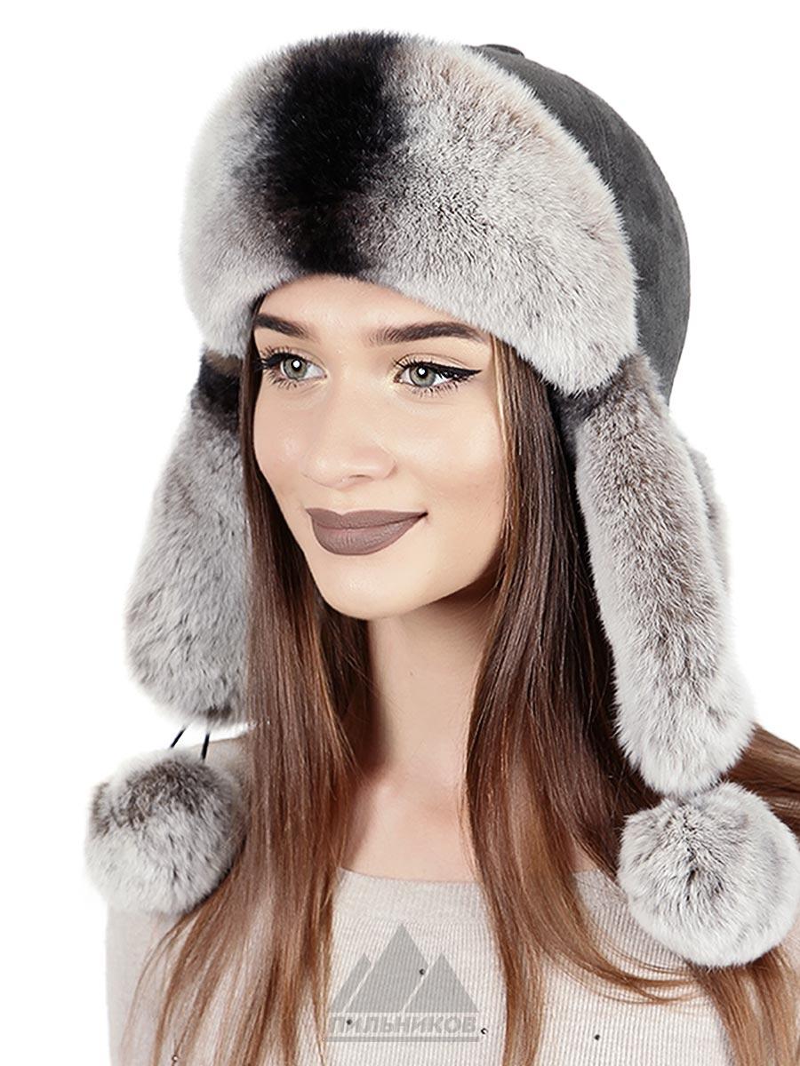 Шапка-ушанка Вивиан