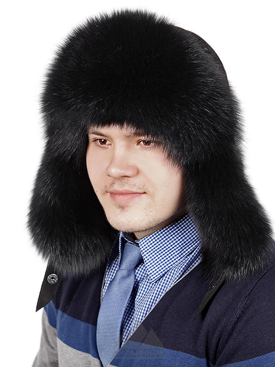 Шапка-ушанка Бентон