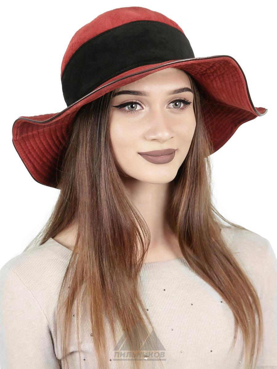 Шляпа Бархат