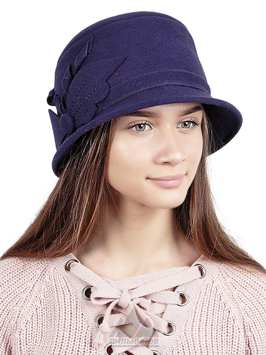 Шляпка Катрина - Женские шапки - Из драпа