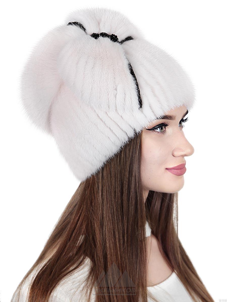 Вязаная-шапка Джемма