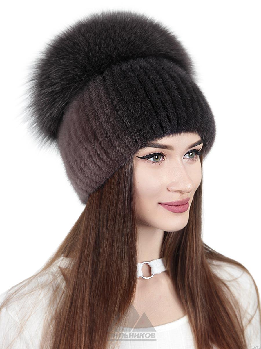 Вязаная-шапка Идони