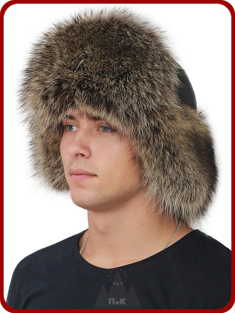Комментарий: Малахай Порту - Мужские шапки - Из меха енота