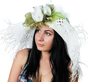 Женские эксклюзивные шляпки