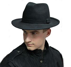 Мужские шляпы из фетра