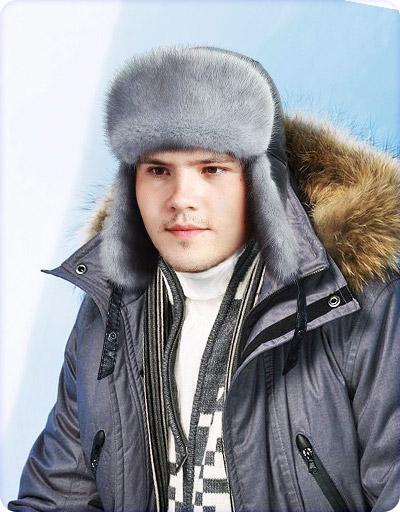 Шапка-ушанка Арктик