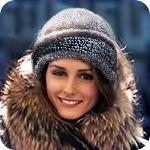 С чем можно носить зимние шляпы из меха