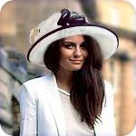 С чем носить широкополую шляпу