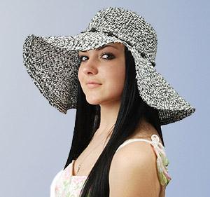 Женские соломенные шляпы