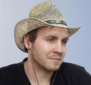 Мужские соломенные шляпы