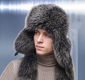 Зимние мужские шапки
